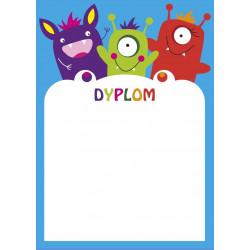 DYPLOMY DZIECIĘCE / POTWORKI