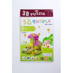 PUZZLE 3D ZAGRODA Z...