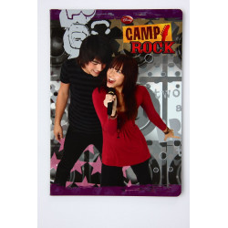 ZESZYT A5/32k. linia CAMP ROCK