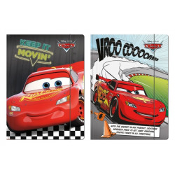 TECZKA Z GUMKĄ A4 / CARS