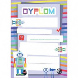 DYPLOMY DZIECIĘCE ROBOTY